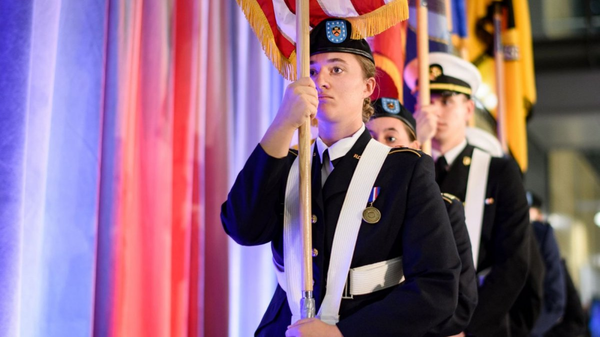 ROTC 100 Color Guard